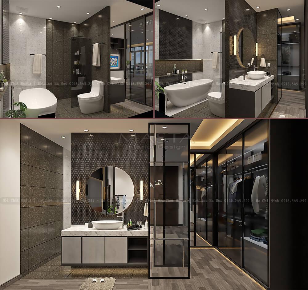 Nội thất phòng tắm Thái Anh