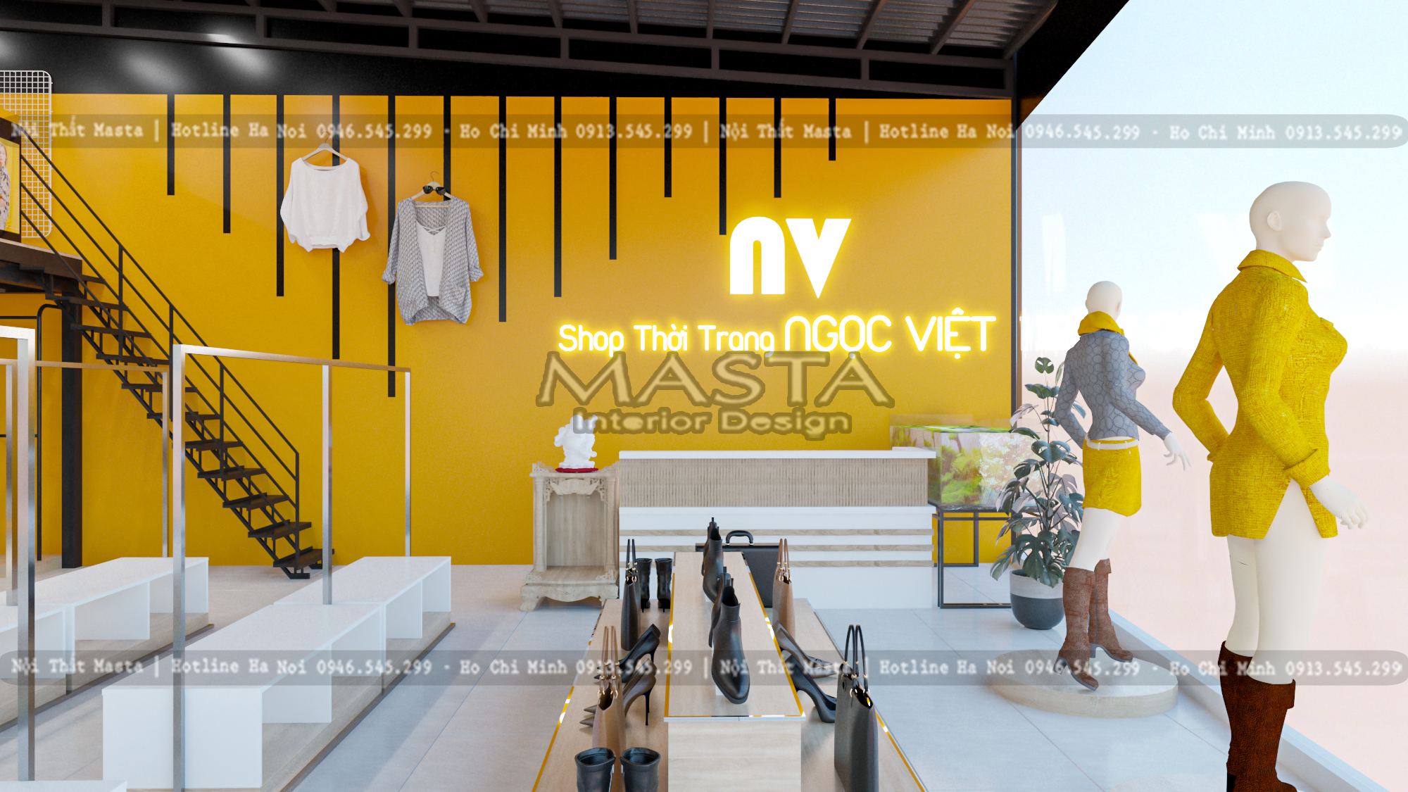 Sự năng động, trẻ trung của Shop thời trang Ngọc Việt