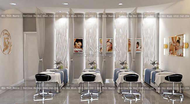 Phòng massage body tiệm Sunny