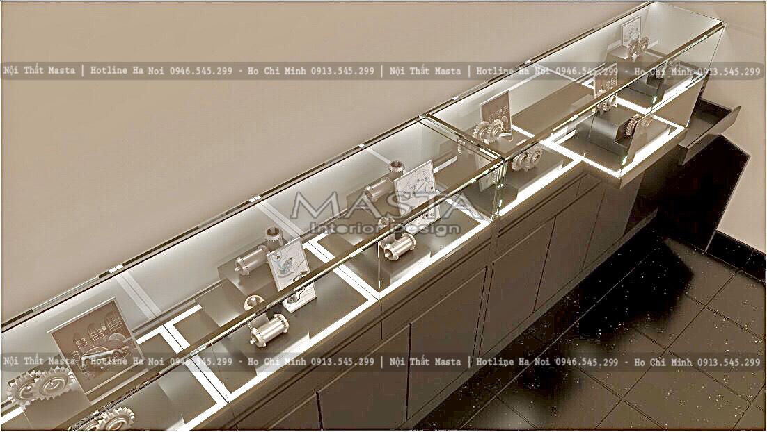 Hệ thống đèn được thiết kế độc đáo, sáng tạo