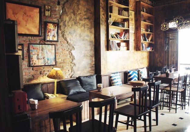 Thiết kế quán trà sữa mang phong cách cổ điển