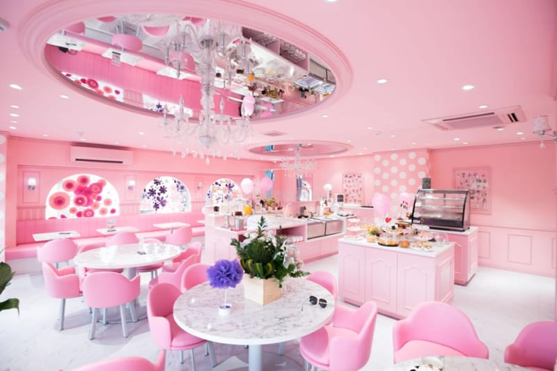 Phong cách thiết kế quán trà sữa sang trọng, lịch sự